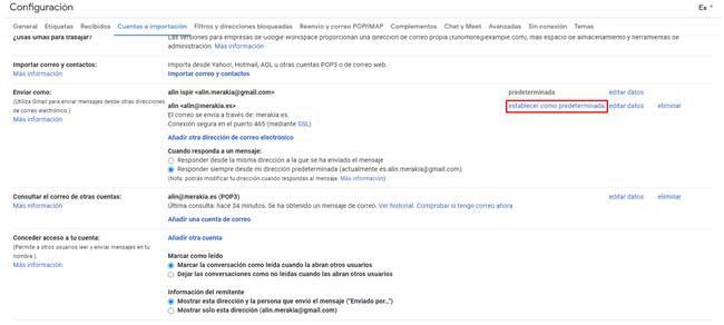 Cómo configurar Gmail como email corporativo