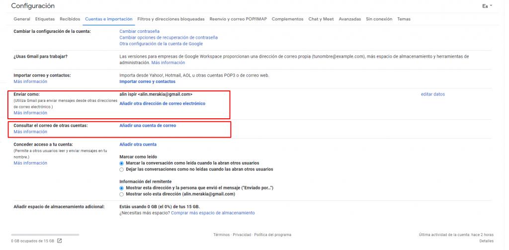 Cómo configurar tu correo corporativo en Gmail